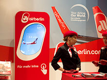 airberlin Messestand ITB 2012