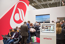 airberlin Messestand ITB 2017